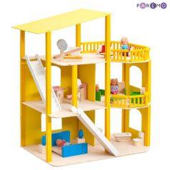 Paremo Кукольный домик Солнечная Ривьера с мебелью 21 предмет