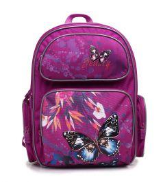 4ALL Рюкзак School Бабочка и цветок