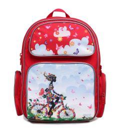 4ALL Рюкзак School Велосипедистка
