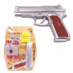 ABtoys Игровой набор Набор разведчика (пистолет, бинокль, пули)