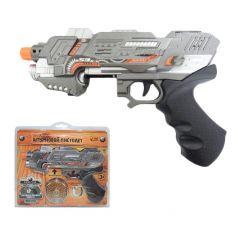 ABtoys Пистолет штурмовой электромеханический со светом и звуком
