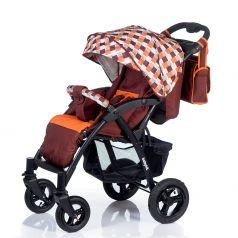 Babyhit Прогулочная коляска Travel Air (коричневый/оранжевый)