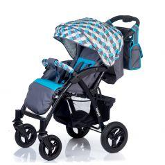 Babyhit Прогулочная коляска Travel Air (серый/голубой)