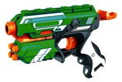 ABtoys Космическое оружие Космобластер 6 мягких снарядов зеленый