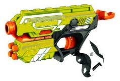 ABtoys Космическое оружие Космобластер 6 мягких снарядов желтый