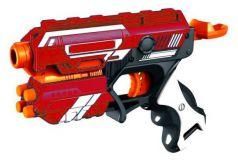 ABtoys Космическое оружие Космобластер 5 мягких снарядов красный