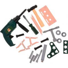 ABtoys Детские игрушечные инструменты Помогаю Папе 22 предмета