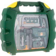 ABtoys Детский набор инструментов Помогаю Папе в чемодане, 22 предмета