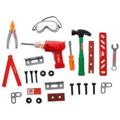 ABtoys Детские строительные инструменты Помогаю Папе в чемодане, 26 предметов