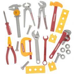 ABtoys Детские инструменты Помогаю Папе 12 предметов