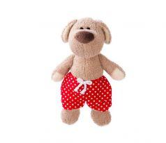 Fluffy Family Мягкая игрушка Пес Филька в шортах 29 см