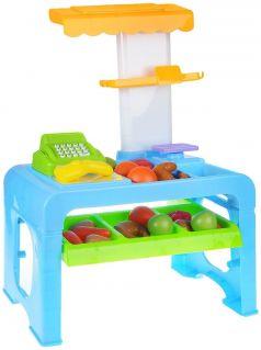 ABtoys Детский игрушечный супермаркет (с аксессуарами, со световыми и звуковыми эффектами)