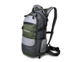 Wenger Городской рюкзак Narrow Hiking Pack 22 л серый/зеленый