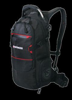 Wenger Городской рюкзак Narrow Hiking Pack 22 л. чёрный