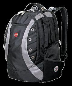 Wenger Городской рюкзак Zoom 35 л. черный/серый