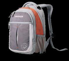 Wenger Городской рюкзак Montreux 26 л серый/оранжевый