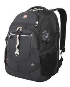 Wenger Рюкзак с отделением для ноутбука 34 л чёрный/серебристый