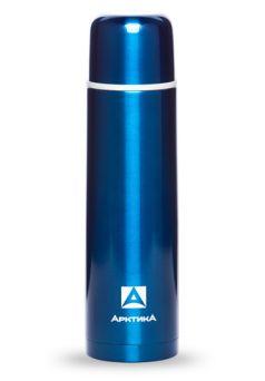 Арктика Термос с узким горлом классический 1 л синий