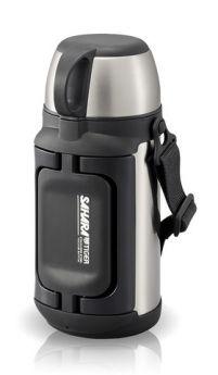 Tiger Термос MHK-A120 XC 1,2 л, универсальный для еды и напитков серебристый