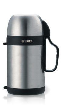 Tiger Термос универсальный MCW-P091 0,9 л, для еды и напитков стальной