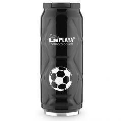LaPlaya Термокружка Football Can 0,5 л черная