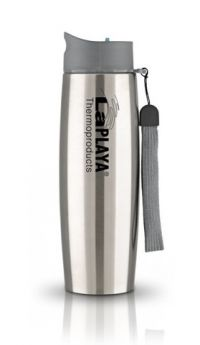LaPlaya Термокружка Thermo Mug SS Strap 0,5 л серебристая