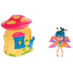 Lanard Игровой набор Fairykins Фея Спора и лесной домик-гриб