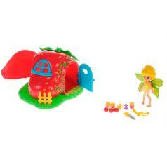 Lanard Игровой набор Fairykins Фея Данди и клубничный домик