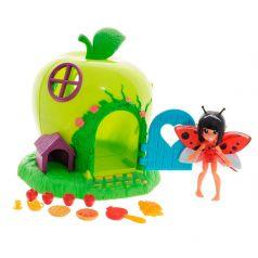Lanard Игровой набор Fairykins Фея Ла-ди и яблочный домик