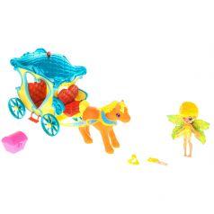 Lanard Игровой набор Fairykins Фея Данди в голубой Карете