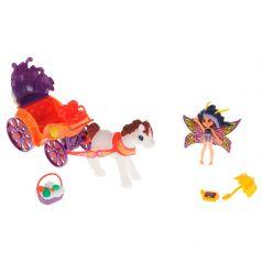 Lanard Игровой набор Fairykins Фея Вольтесса в ландо