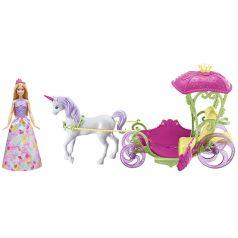 Mattel Кукла Barbie Конфетная карета
