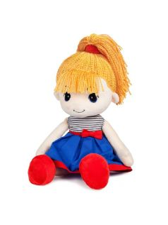 MaxiToys Мягкая игрушка Кукла Стильняшка Блондинка 40 см