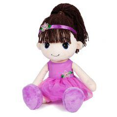MaxiToys Мягкая игрушка Кукла Стильняшка Брюнетка 40 см