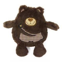 MaxiToys Игрушка-грелка Медвежонок 19 см