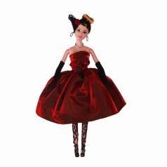 Yako Кукла Софи в бордовом платье