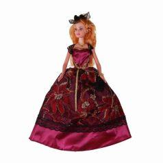 Yako Кукла Софи в черно-бордовом платье