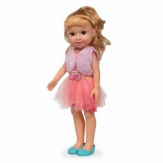 Yako Кукла Jammy в розовом платье