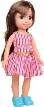 Yako Кукла Jammy в платье с поясом