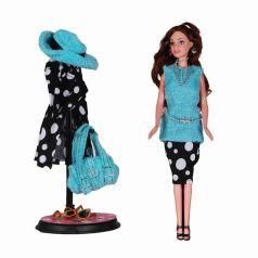 Yako Кукла Натали в голубом с аксессуарами