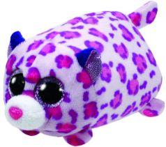 TY Мягкая игрушка Teeny Tys Леопард розовый 10 см