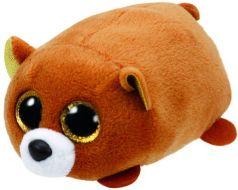 TY Мягкая игрушка Teeny Tys Медведь коричневый 10 см