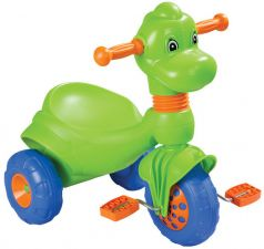 Pilsan Трехколесный велосипед Dino в пакете зеленый