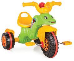 Pilsan Трехколесный велосипед Buggy зелено-желтый