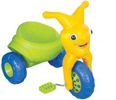 Pilsan Велосипед 3-х колесный Clown в подарочной коробке зелено-желтый