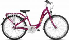"Puky Велосипед 2-х колесный Skyride 24-3 Alu light berry 24"" бордовый"