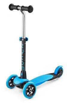 Zycom Самокат 3-х колесный Zing Mini с легко вынимаемой ручкой сине-черный