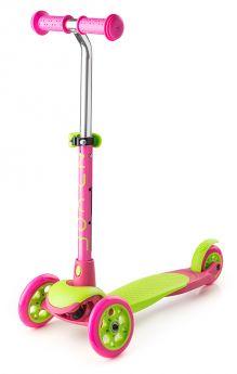 Zycom Самокат 3-х колесный Zing Mini зелено-розовый