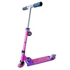 X-Match Самокат детский 2 х колесный Cute со светящимися колесами розовый