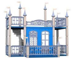 Нордпласт Домик для кукол Замок Снежная Королева синий